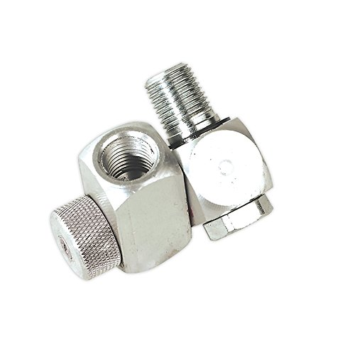 Sealey Z-Swivel Air Hose Connector With Regulator 1/4