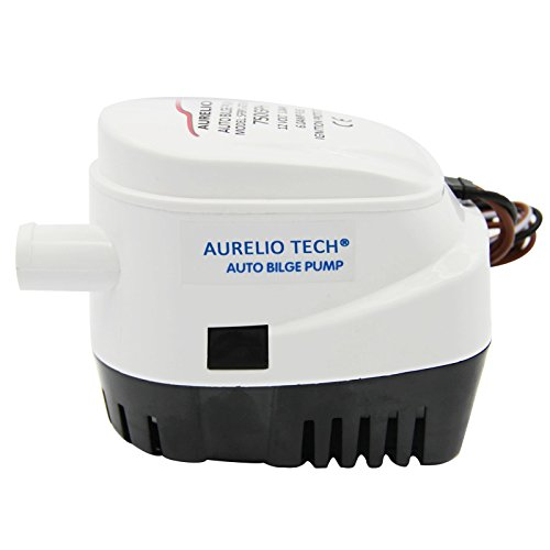 Seaflo Automatic Submersible Boat Bilge Water Pump 12v 750gph Auto with Float Switch
