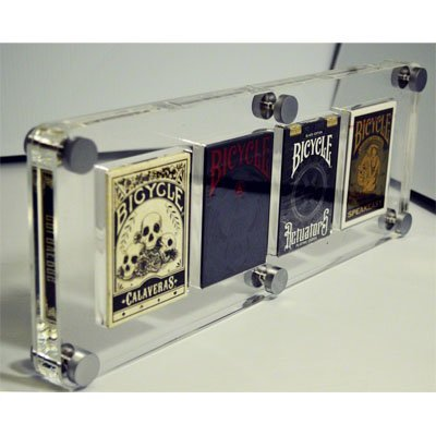 Kings Wild Exclusive (4 Deck) Card Case by Gambler's Warehouse - Trick