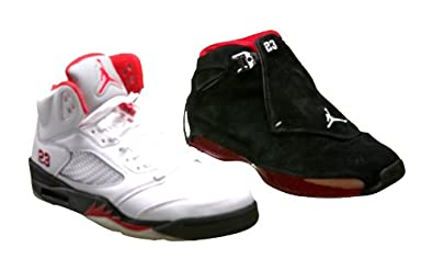 check out cc5e8 84d02 Image Unavailable. Image not available for. Color  Nike Air Jordan  Collezione 18 5 ...