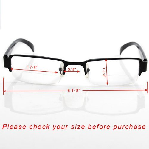 Excellent Bifocal Half-frame Reading Glasses +2.0 Photo #5