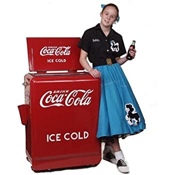 Classic Coca-Cola Refrigerated Machine