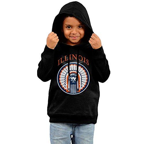 Fashion Hoodies For Baby Boys And Girls Fighting Illini Cool Logo Sweatshirts