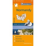Normandy Road and Tourist Map