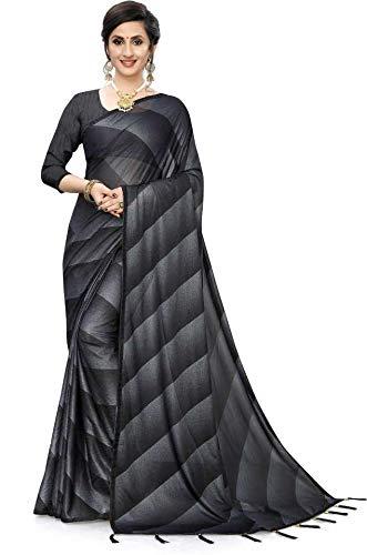 Impression Fab Women Printed Bollywood Silk Blend Saree