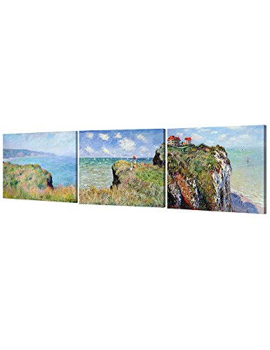 DecorArts Triptych Claude Reproduction Giclee