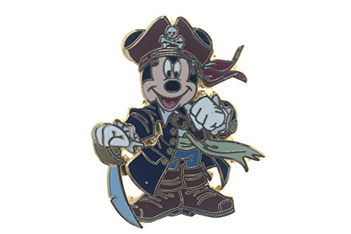 Disney Pirates of the Caribbean (Captain Mickey Mouse) Pin