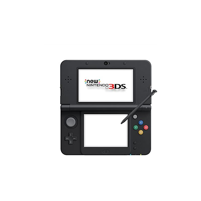 New Nintendo 3DS Black (Japan import - o