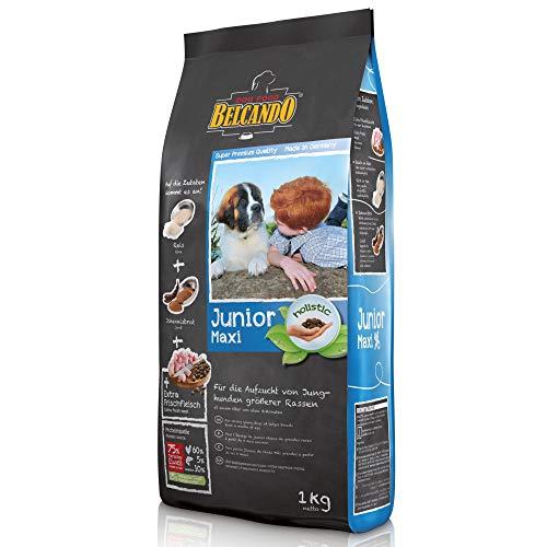 Belcando Junior Maxi [1 kg] Hundefutter   Trockenfutter für Junghunde großer Rassen   Alleinfuttermittel für Junghunde…