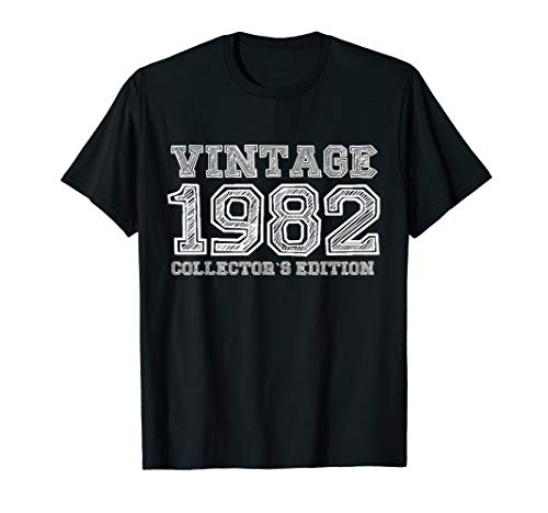 1982 Collector - 1982 Vintage Collector's Edition 35th Birthday Gift T-shirt