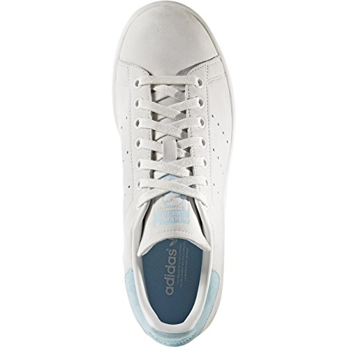 Smith White Donna crystal Basso Bianco Collo Sneaker W A White crystal Blue icey Adidas Stan 5wqH0xn7