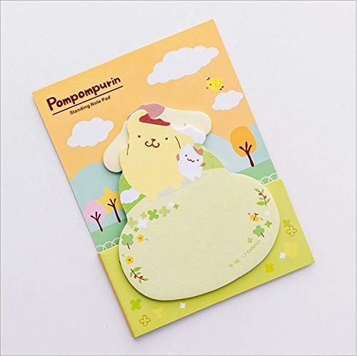 Dasanito3089 Memo Pad Lovely Daily Plan List Agenda Planner Accessories Index Sticky Memo Message Pad