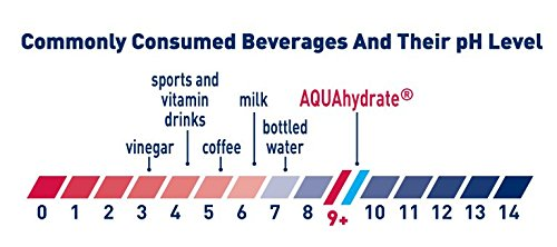 AQUAhydrate Electrolyte Enhanced Water Ph9+, 33.8  Fl. Oz (Pack of 12) by AQUAhydrate (Image #4)