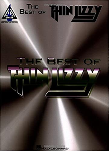 The Best of Thin Lizzy Guitar TAB Music Book