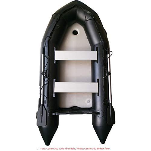 Ozean Embarcacion Neumática 3,60m (Negra): Amazon.es: Deportes y ...