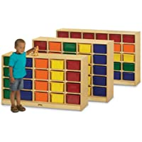 Jonti-Craft 0420JC 20 Cubbie-Tray Mobile Storage without Trays