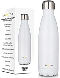 Brimma Vacuum Insulated Water Bottle - Double Wall...