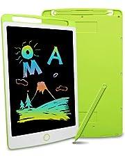 Richgv Kleurrijke Lcd-schrijftablet, 10 Inch Digitale Ewriter Met Wisvergrendelingsschakelaar, Elektronische Grafische Tekentafel, Draagbaar Handschriftkrabbelblok Voor Speelgoed Geschenken