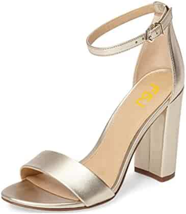 c7b59c8e88c Shopping FSJ - Funny She Jill - 14 - Clear or Gold - Shoes - Women ...