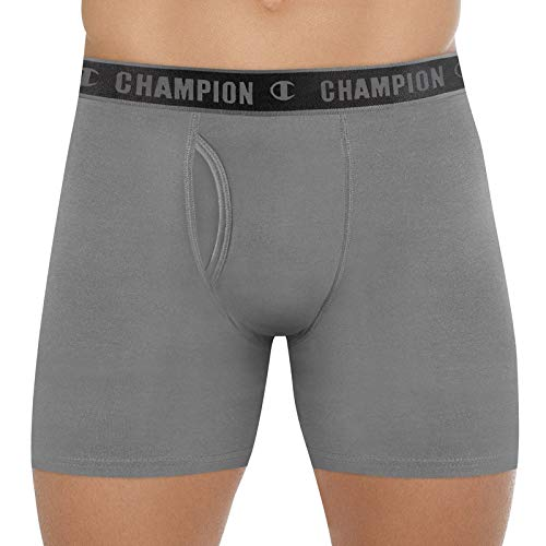 Cueca Cotton Performance, Champion, Masculino, Grafite, P