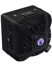 Mini Spy Camera WiFi Verborgen camera Draadloos Klein 1080P HD met nachtzicht Bewegingsdetectie Remote Monitor Loop Record Ingebouwde batterij en magnetisch voor thuiskantoor Beveiliging Nanny Cam