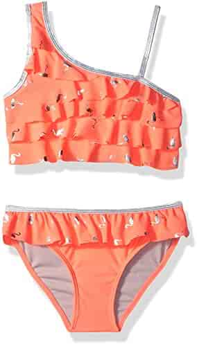 Limited Too Girls' Flamingo Foil 2pc
