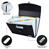 Uquelic 26Pockets Expanding File Folder - Upgraded