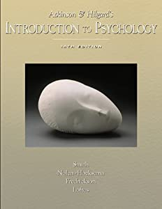 Atkinson and Hilgard's Introduction to Psychology (with Lecture Notes and InfoTrac)