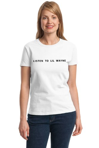LISTEN TO LIL WAYNE Ladies' T-shirt / Lil Wayne Weezy Grammy Shirt
