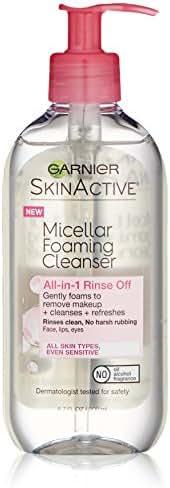 Garnier SkinActive Micellar Foaming Face Wash, For All Skin Types, 6.7 fl oz