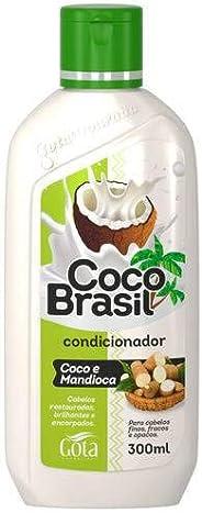 Condicionador Uso Diário 300Ml Coco E Mandioca Unit, Gota Dourada