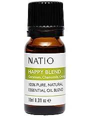 Natio Pure Essential Oil Blend, Happy 10 ml, Happy, 10 ml