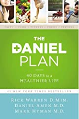 The Daniel Plan: 40 Days to a Healthier Life Hardcover