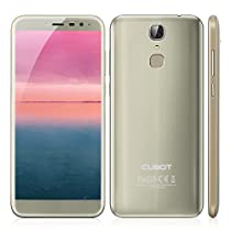 "CUBOT X18 Smartphone, 5.7 "" HD IPS Display (proporzione 18: 9) Android 7.0 4G Telefono Cellulari, MT6737T ,Quad-Core, 1.5GHz , 3GB RAM + 32GB ROM, 16.0MP AF+13.0MP Camera, Dual Sim, Fingerprint Scanner, WiFi, GPS, Bluetooth 4.0 Cellulare - Blu"