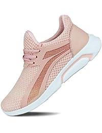 Women's Light Weight Sport Knit Workout Walking Sneakers