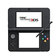 New Nintendo 3DS Black (Japan import - only for Japanese games)