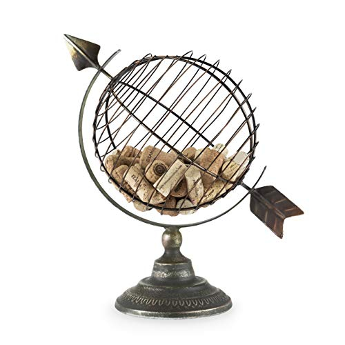 Twine 5596 Chateau: Old World Globe Cork Display, Multicolor