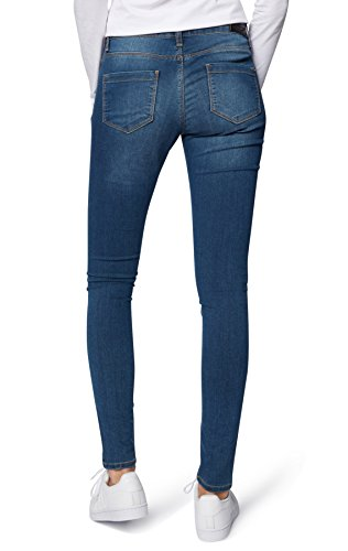 Viola Wotega Blue Denim Donna medium Skinny 4001 Jeans Blu 5Tq7TFr