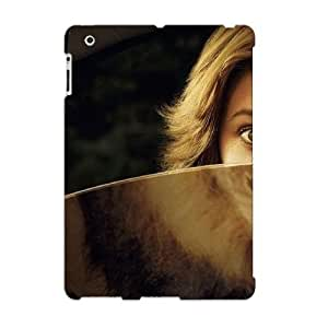 CeWUo0PuGQD Tpu Phone Case With Fashionable Look For Ipad 2/3/4 - Lion Girl Case For Christmas Day's Gift