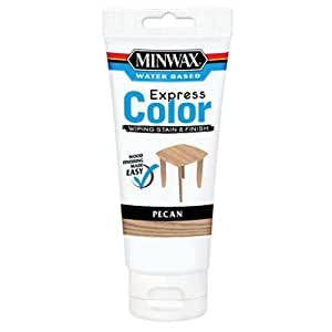 Minwax 308024444  Express Color Wiping Stain and Finish, Pecan