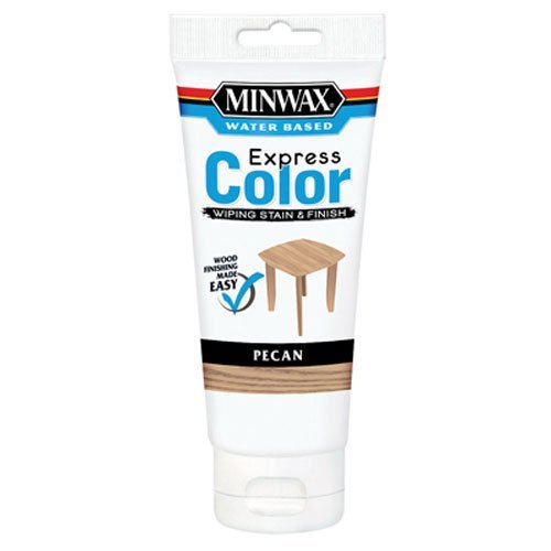 Minwax 308024444  Express Color Wiping Stain and Finish, Pecan ()