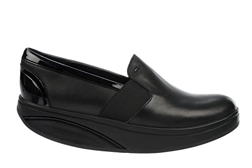 para Mujer Black Luxe Shani On Mocasines Negro MBT Slip TXHqwqa