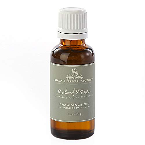 (Soap & Paper Factory Roland Pine Fragrance Oil - 1 oz)