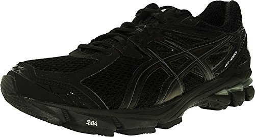 ASICS Men's GT-1000 3 2E Running Shoe,Black/Onyx/Lightning,12 2E