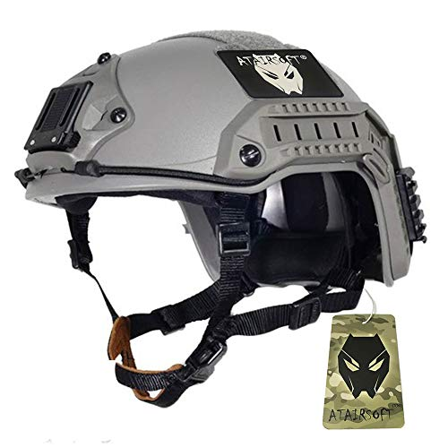 ATAIRSOFT Adjustable Maritime Helmet ABS for Airsoft Paintball(FG,L/XL)