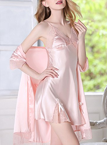 ACHICGIRL - Pijama - relaxed - para mujer Dusty Pink