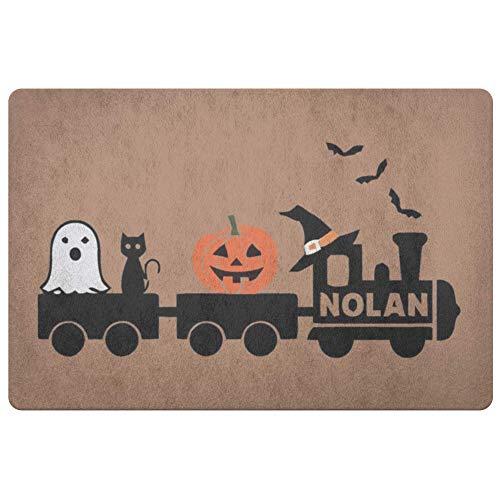 Personalized Doormat Halloween Shirt Doormats - Front Doormat - Door Mat Coir Doormat - Porch Decor - Wedding Gift - Housewarming Gift Rug