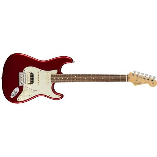 (Fender American Professional HSS Shawbucker Stratocaster - Candy Apple Red w/Rosewood)