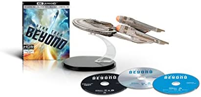 Star Trek Beyond Amazon Exclusive Gift Set [4K Ultra HD + 3D Blu-ray + Blu-ray + Digital HD]