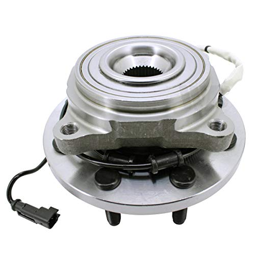 WJB WA515162 Front Wheel Hub Bearing Assembly Replace Timken HA590628 Moog 515162 SKF BR930553